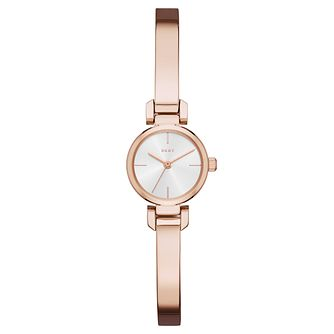 DKNY Ellington Ladies' Rose Gold Tone bracelet Watch - Product number 6415415
