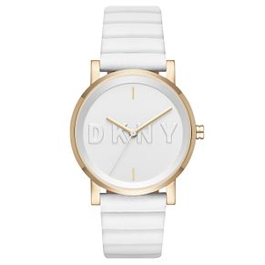 DKNY Soho Ladies' Gold Tone Strap Watch - Product number 6415423