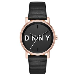 DKNY Soho Ladies' Rose Gold Tone Strap Watch - Product number 6415431