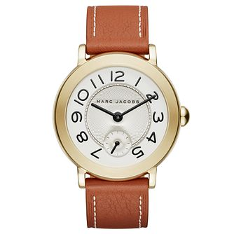 Marc Jacobs Riley Ladies' Gold Tone Strap Watch - Product number 6415482