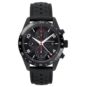 Montblanc Men's Black Timewalker Chronograph Strap Watch - Product number 6415644