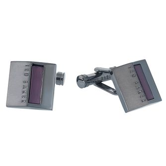 Ted Baker Men's Brass Purple Cufflinks - Product number 6415989