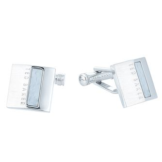 Ted Baker Brass Men's White Cufflinks - Product number 6415997