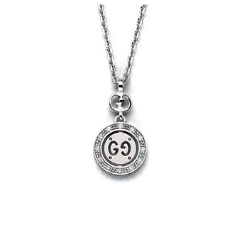 Gucci Icon Twirl 18ct white gold diamond pendant - Product number 6418783