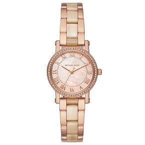 Michael Kors Ladies' Rose Gold Tone Bracelet Watch - Product number 6425976