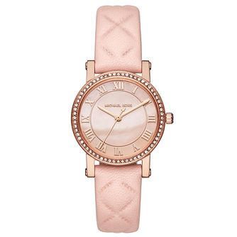 Michael Kors Ladies' Rose Gold Tone Strap Watch - Product number 6425984