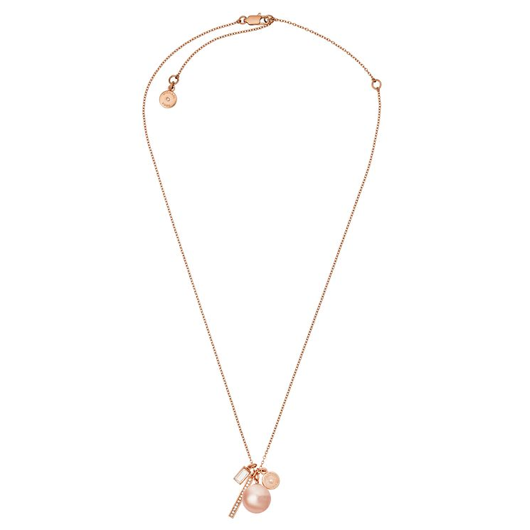 Michael Kors Rose Gold Tone Necklace - Product number 6426093