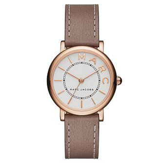 Marc Jacobs Ladies' Rose Gold Tone Strap Watch - Product number 6426565