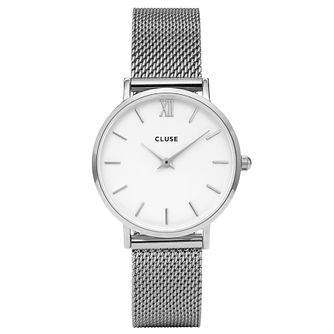Cluse Ladies' Minuit Stainless Steel Mesh Bracelet Watch - Product number 6427146