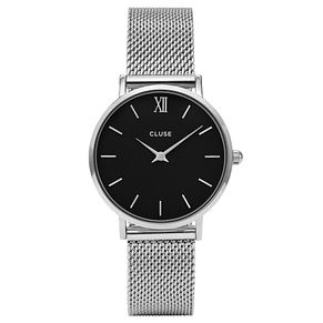Cluse Ladies' Minuit Stainless Steel Mesh Bracelet Watch - Product number 6427189