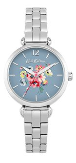 Cath Kidston Silver Blue Dial Bracelet Watch - Product number 6428258