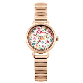 Cath Kidston Rose Gold-Plated Expandable Watch - Product number 6428282