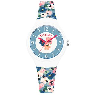 Cath Kidston White Dial Blue Silicone Strap - Product number 6428304