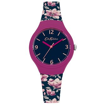 Cath Kidston Navy Dial Silicone Strap Watch - Product number 6428312