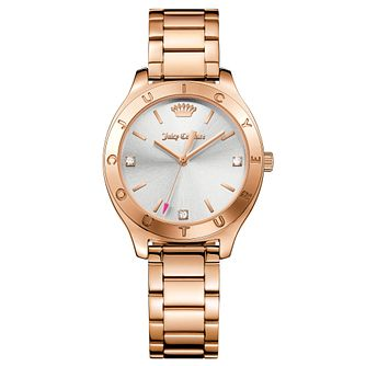 Juicy Couture Rose Gold Plated Staineless Steel Watch - Product number 6428568