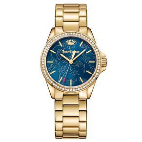 Juicy Couture Gold Plated Stainless Steel Bracelet Watch - Product number 6428630