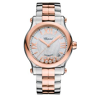 Chopard Happy Sport Ladies' Two Colour Bracelet Watch - Product number 6431992