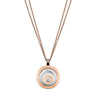 Chopard Happy Spirit 18ct Rose Gold Diamond Pendant - Product number 6432425