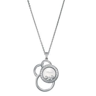 Chopard Happy Diamonds 18ct White Gold Pendant - Product number 6432514