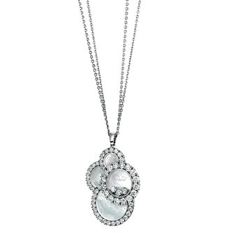 Chopard Happy Diamonds 18ct White Gold Diamond Pendant - Product number 6432530
