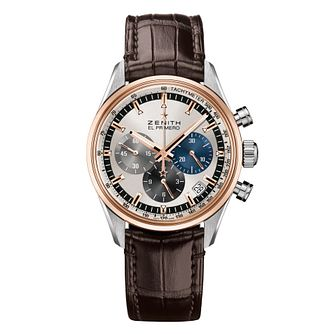 Zenith El Primero Men's Two Colour Chronograph Watch - Product number 6435653