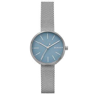 Skagen Ladies' Signatur Stainless Steel Mesh Bracelet Watch - Product number 6440037