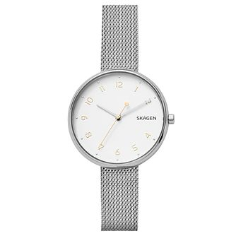 Skagen Ladies' Signatur Stainless Steel Mesh Bracelet Watch - Product number 6440045