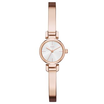 DKNY Ladies' Rose Gold Plated Bangle Watch - Product number 6440185
