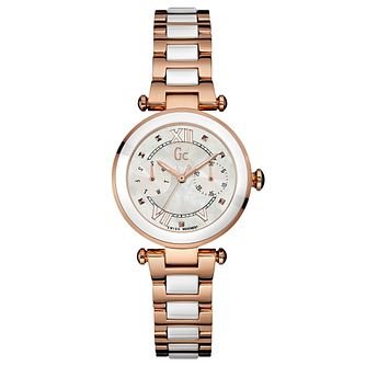 Gc LadyChic Ladies' Ceramic and Steel Bracelet Watch - Product number 6440223