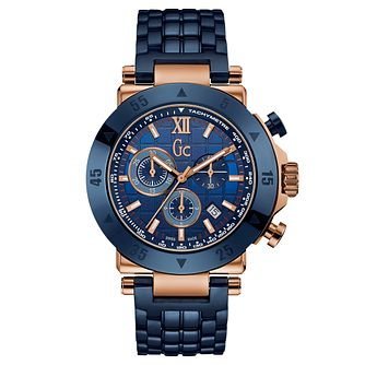 Gc Gc-1 Sport Men's Blue Bracelet Watch - Product number 6440568