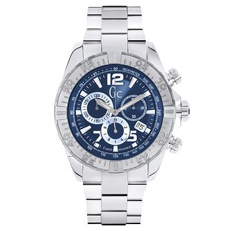 Gc SportRacer Men's Stainless Steel Bracelet Watch - Product number 6440592