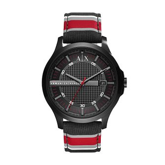 Armani Exchange Men's Multi Colour Fabric Strap Watch - Product number 6440843
