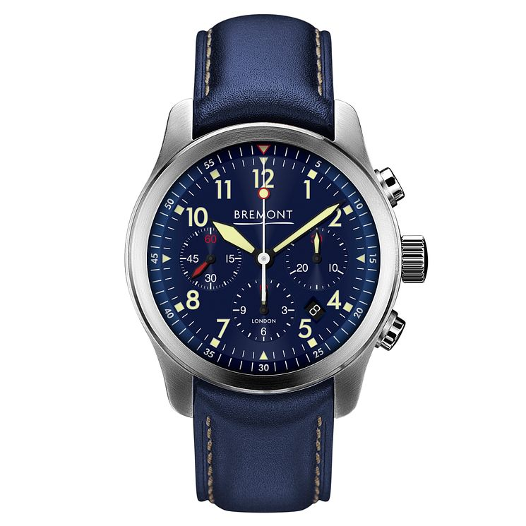 Bremont ALT1-P2 Pilot Men's Stainless Steel Strap Watch - Product number 6440959