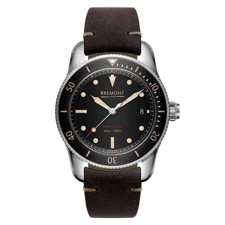 Bremont Supermarine S301 Men's Stainless Steel Strap Watch - Product number 6441041