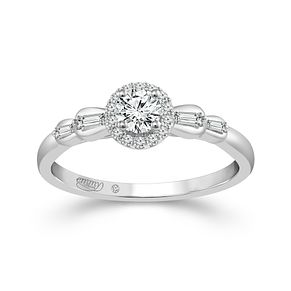 Emmy London Pallladium 1/3ct Diamond Ring - Product number 6445608