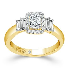 Emmy London 18ct Yellow Gold 4/5ct Diamond Ring - Product number 6448267