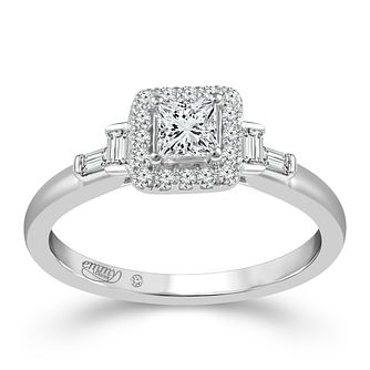 Emmy London 18ct White Gold 1/2 Carat Diamond Ring - Product number 6448682
