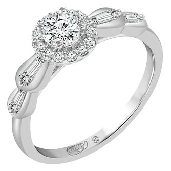 Emmy London 18ct White Gold 1/2ct Diamond Ring - Product number 6449808