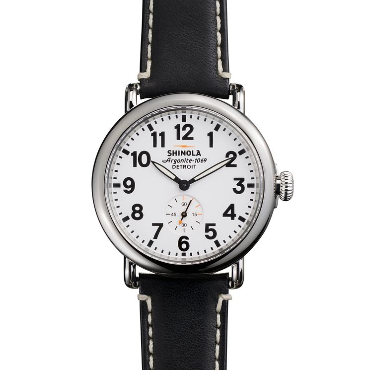 Shinola Runwell 47 mm Men's Stainless Steel Strap Watch - Product number 6548997