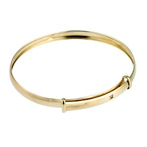 9ct Yellow Gold Expander Bracelet - Product number 6555519