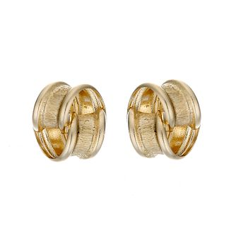 9ct Yellow Gold Knot Stud Earrings - Product number 6619185