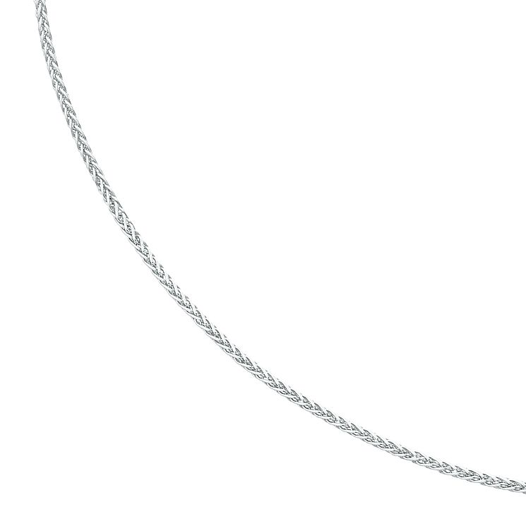Silver adjustable necklace spiga chain - Product number 6637981