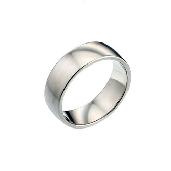 Palladium 950 7mm Super Heavy Court Ring - Product number 6642241
