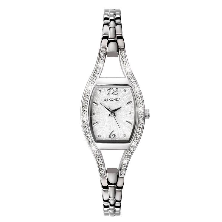 Sekonda La s Stone Set Bracelet Watch