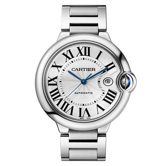 Cartier Ballon Bleu men's stainless steel bracelet watch - Product number 6724973