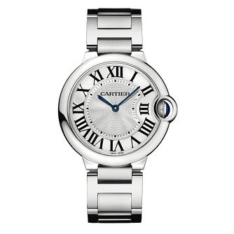 Cartier Ballon Bleu ladies' stainless steel bracelet watch - Product number 6724981