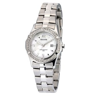 Accurist Ladies' Swarovski Crystal Watch - Product number 6743366