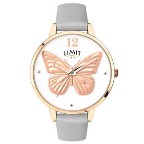 Limit Secret Garden Ladies' Gold Plated 3D Effect Watch - Product number 6775357