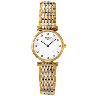 Longines La Grande Classique Ladies Diamond Two Colour Watch - Product number 6806317