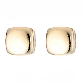 9ct Yellow Gold Square Stud Earrings - Product number 6836011
